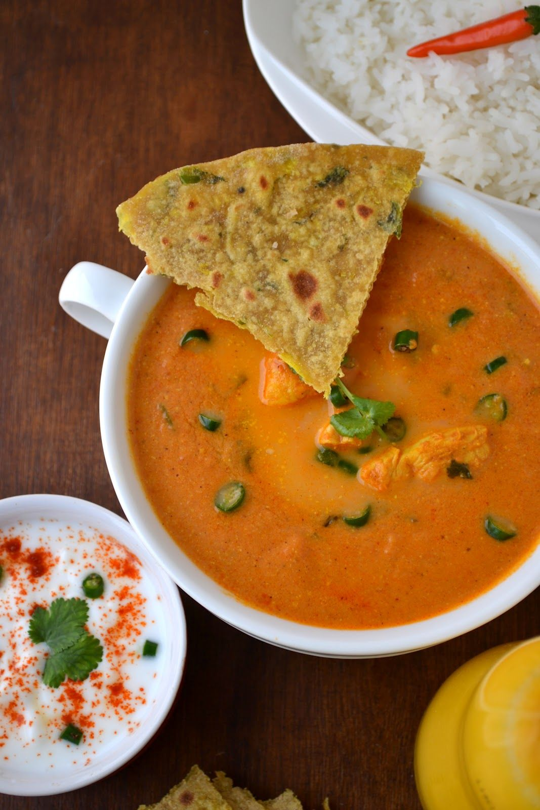 Butter chicken without butter and heavy cream!!! A true