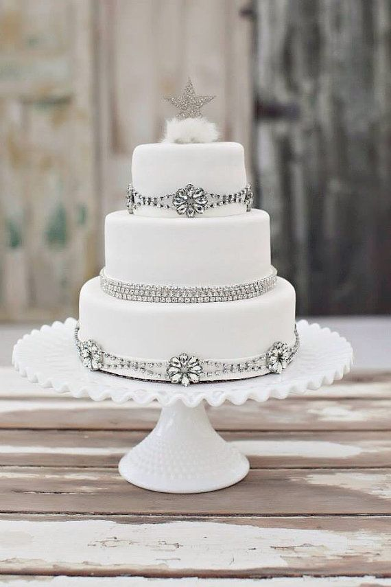 Cake Accessories Crystal Cake Wedding Cake Rhinestone Trim Embellished Trim Bridal Cake Wedding C Cake Accessories Wedding Cake Accessories Wedding Cakes