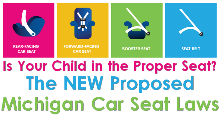 New Bill Proposed To Affect Car Seat Usage In Michigan