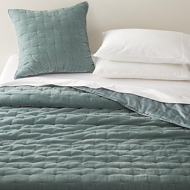 Velvet Bed Grey Linen Bedding, Crate And Barrel Bedding Reviews