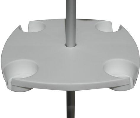 Beach Umbrella Table Attaches To Any Pole