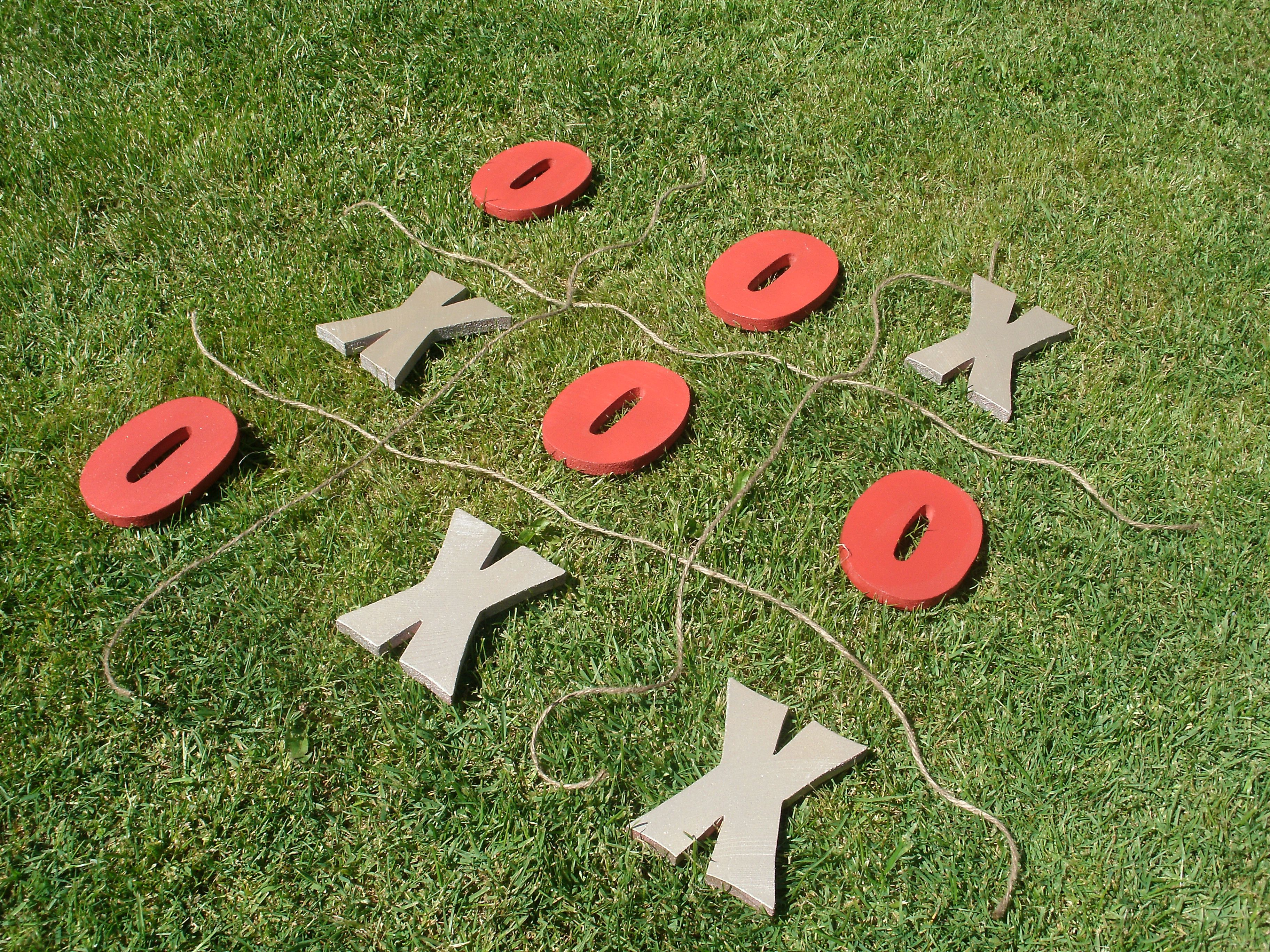 Lawn Tic Tac Toe Party And