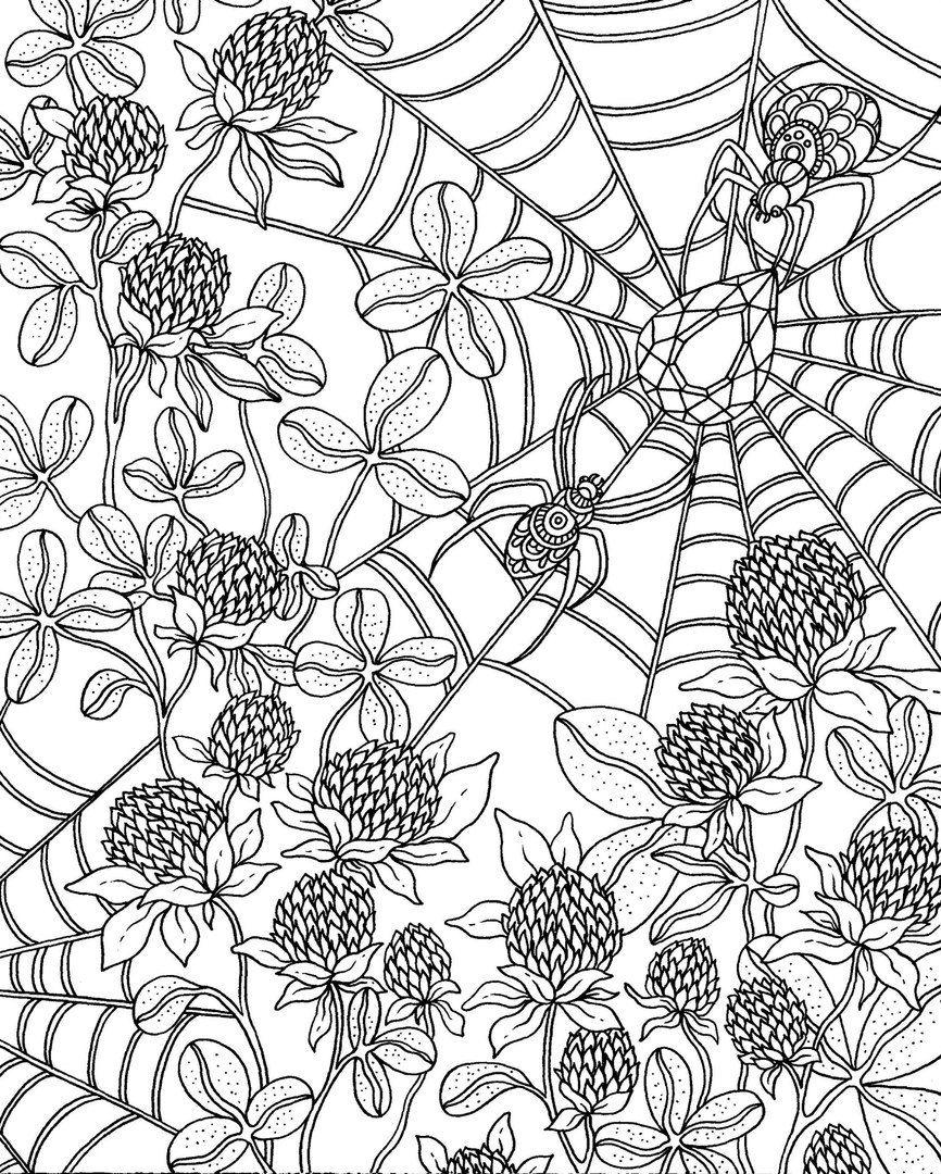 Картинки для арт терапии черно белые