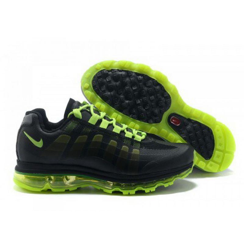 Black · Nike Air Max 95 360 Wmns Black Green DW04006