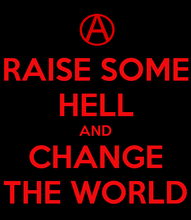 Anarchist Art Motivational Phrases Words True Quotes