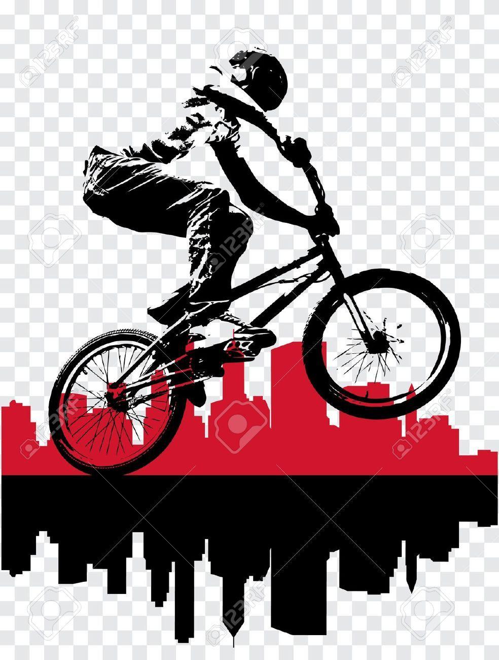 bicicross bmx vectores - Buscar con Google | Invitacion | Pinterest ...
