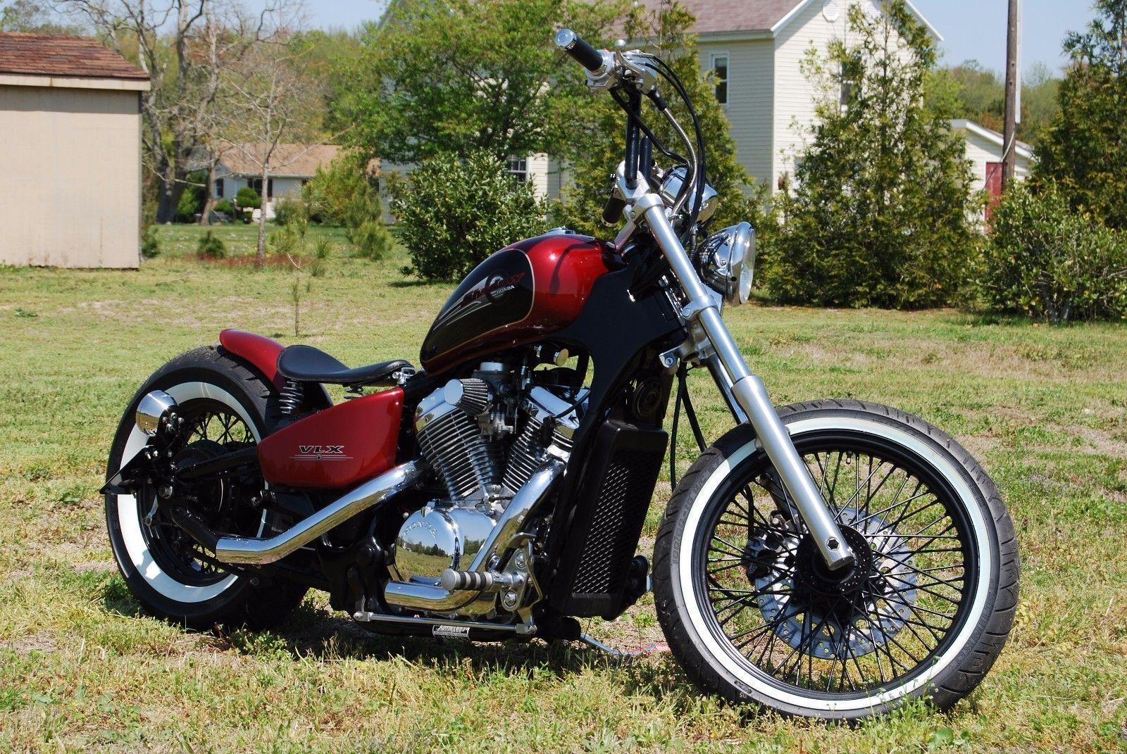 How To Build Custom Bobber Motorcycle Dvd Honda Shadow Vlx 600