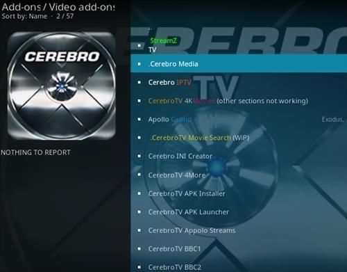 How To Install Cerebro TV Media IPTV Kodi Addon with ModbroStep 17
