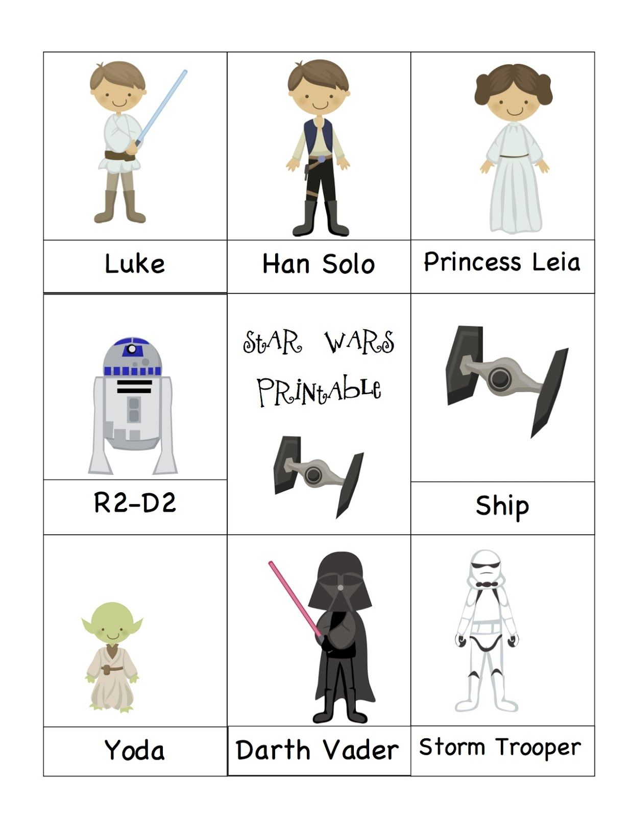 Image Detail For Preschool Printables Star Wars 3
