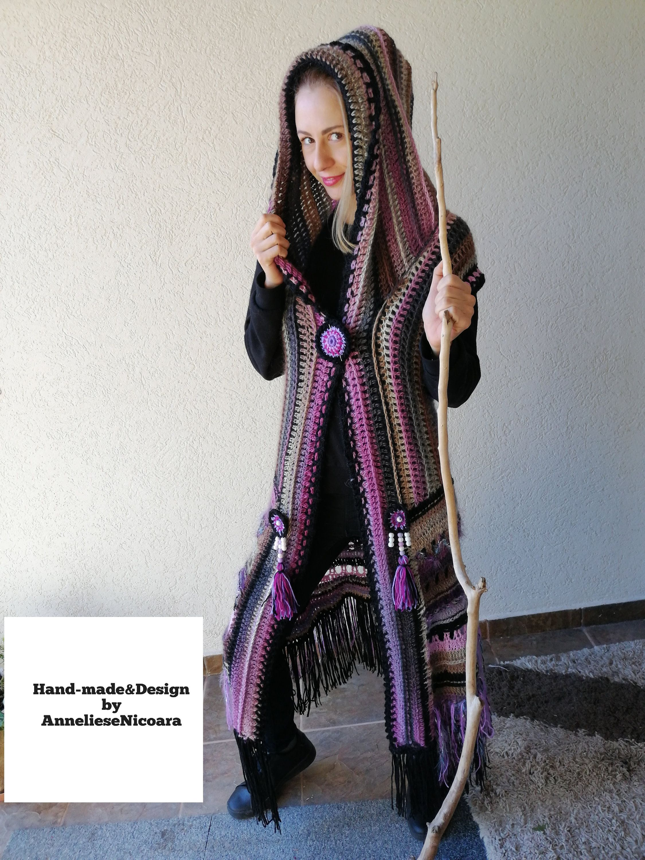 Unicorn Rainbow Hair Dames trui met capuchon