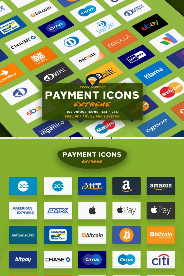 Payment / credit card vector icons e Credit card, Credit