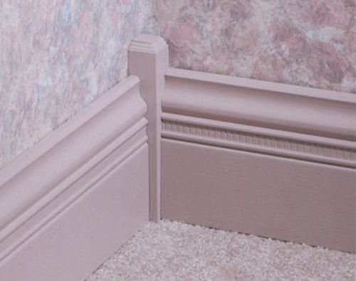 1 X 1 X 6 Pine Inside Corner Base Block Moulding At Menards Baseboards Craftsman Window Trim Plinth Blocks