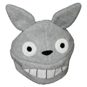 Plush Beanie - Totoro (Grey)