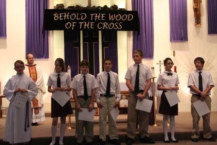 Saint John the Evangelist Catholic School Middle School MathCount Team!