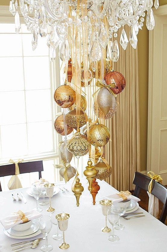 Photo of 40+ Stunning Christmas Chandeliers | Art & Home