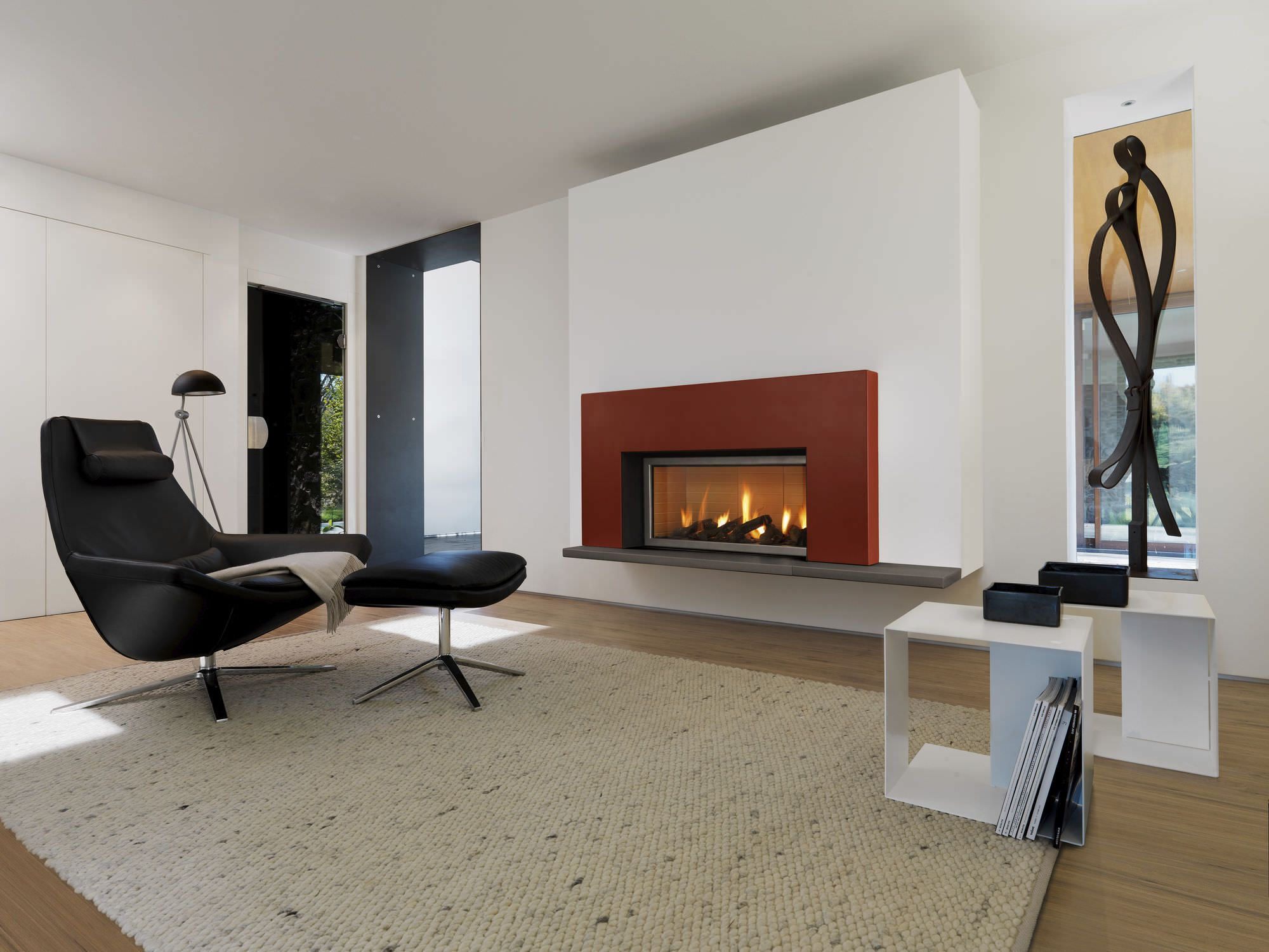 Modern Fireplace Surrounds Modern Fireplace Mantels And Surrounds  Fireplace Design Ideas