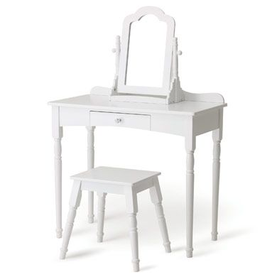 Debutante Dressing Table and Stool Set for Children   Kirst\'s big ...