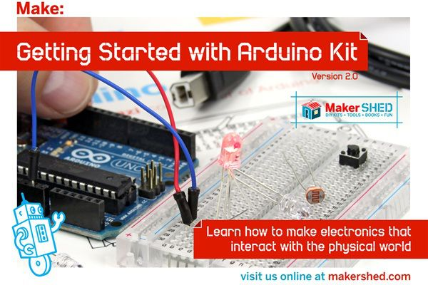 Back in the Maker Shed: Getting Started with Arduino Kit | aduino