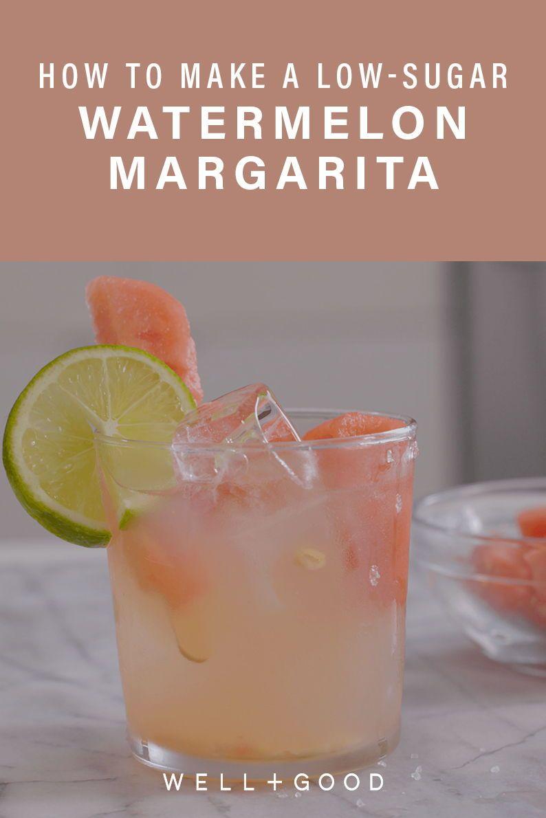 How To Make A lowsugar Watermelon Margarita Well+Good