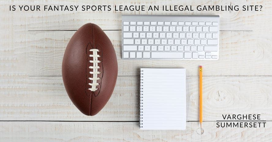 Is Your Fantasy Football League Illegal Gambling in Texas