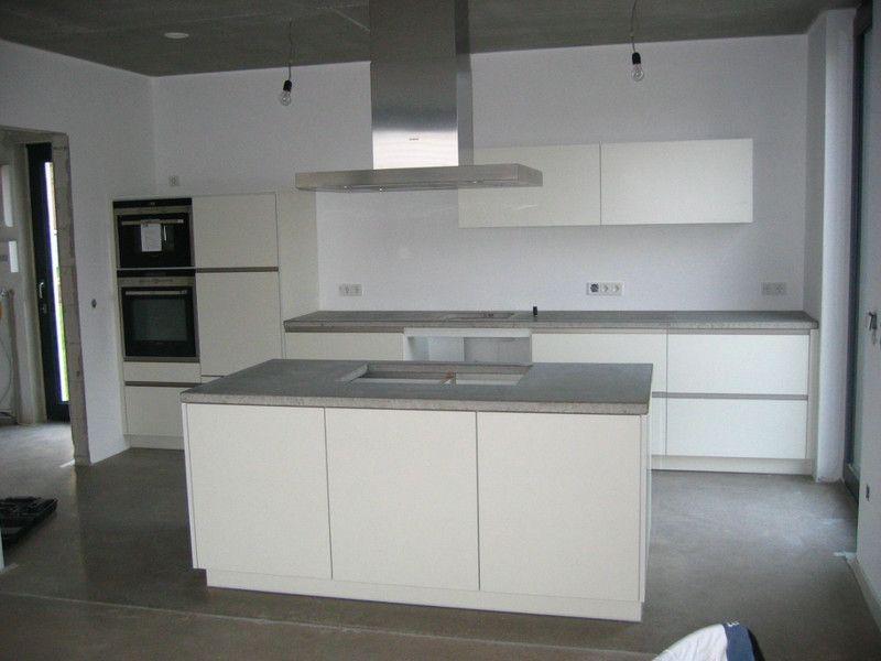 k che beton arbeitsplatte k che k che beton. Black Bedroom Furniture Sets. Home Design Ideas