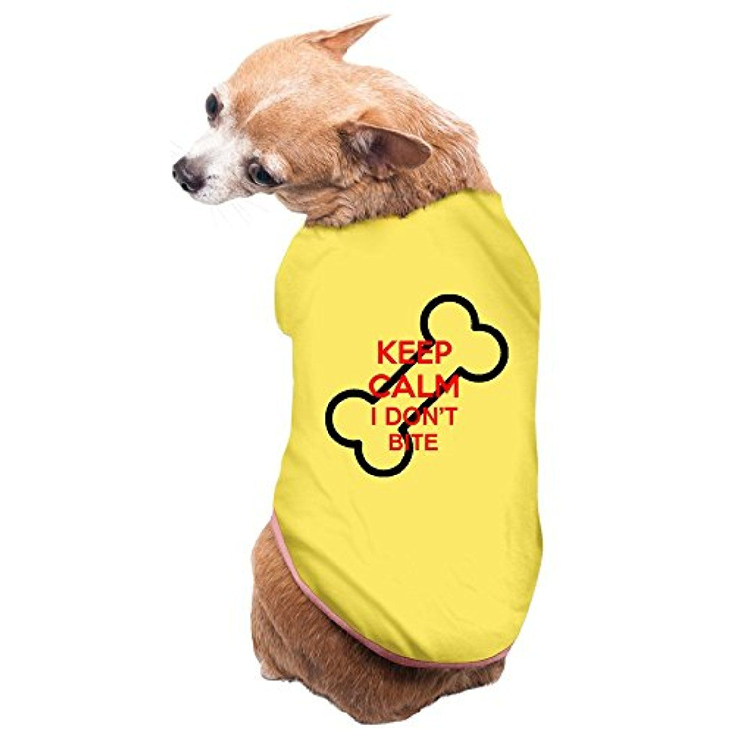 Aipyep slim fit keep calm l dont bite puppies and dog