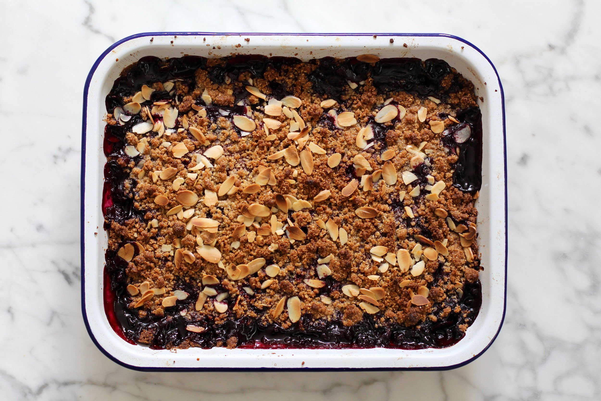 Berry Crumble — Building Feasts