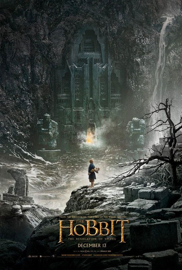 Cartel De El Hobbit La Desolación De Smaug The Hobbit Movies Hobbit Poster Hobbit Desolation Of Smaug