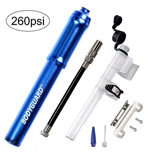 Bodyguard Mini Bike Pump Reliable Hand Air Pump Presta And