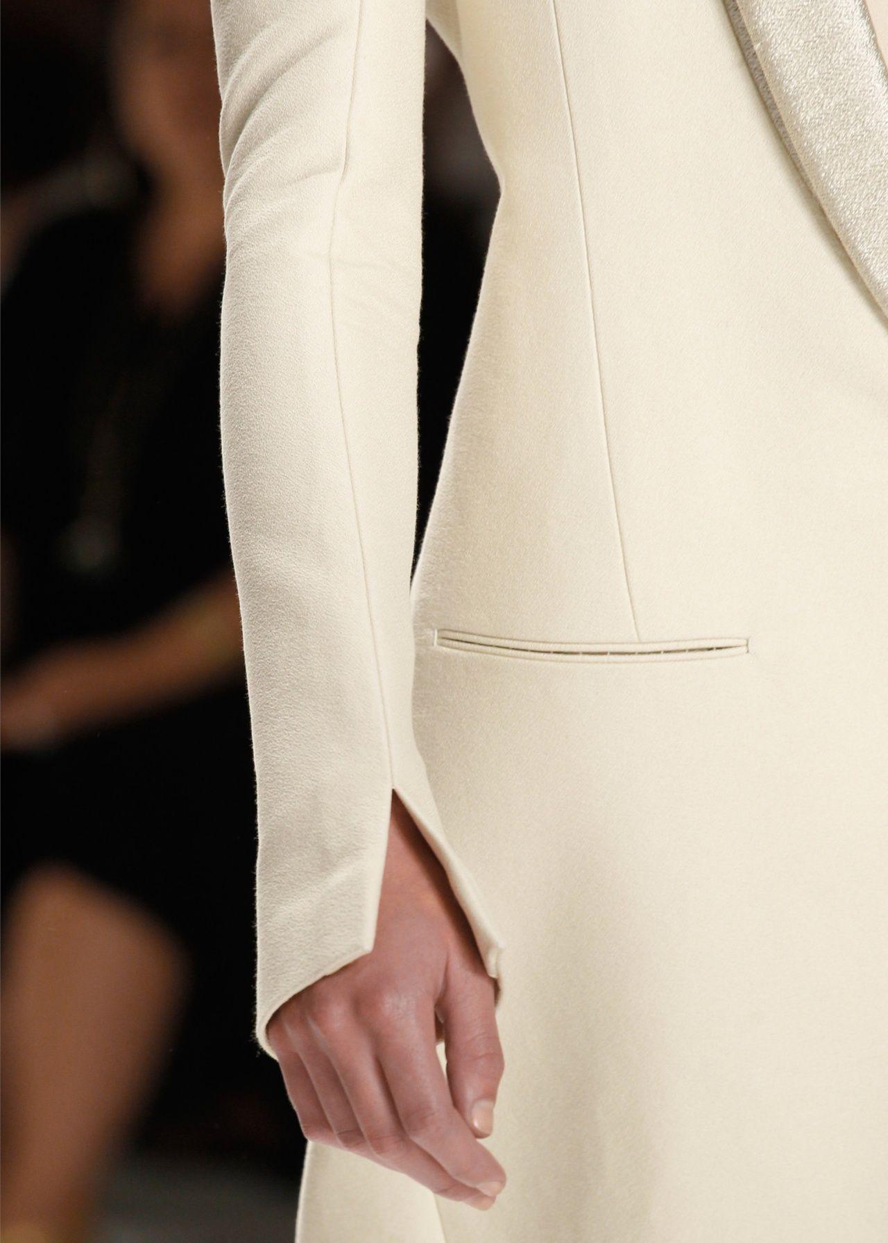 Calvin Klein Spring 2012. | love the sleeve detailing