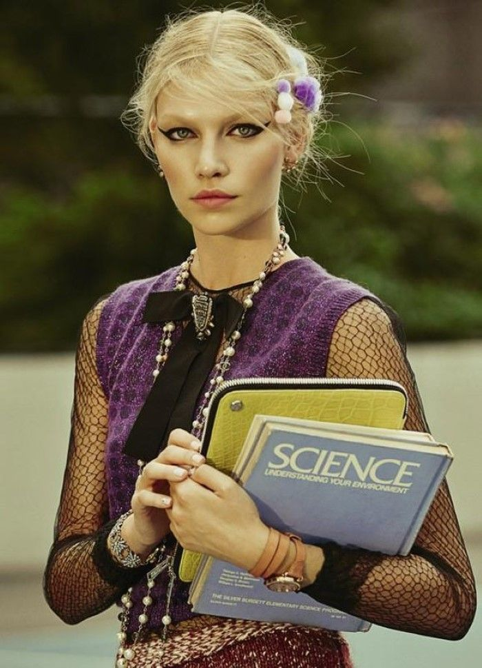 Aline Weber for Modern Weekly China - Gucci