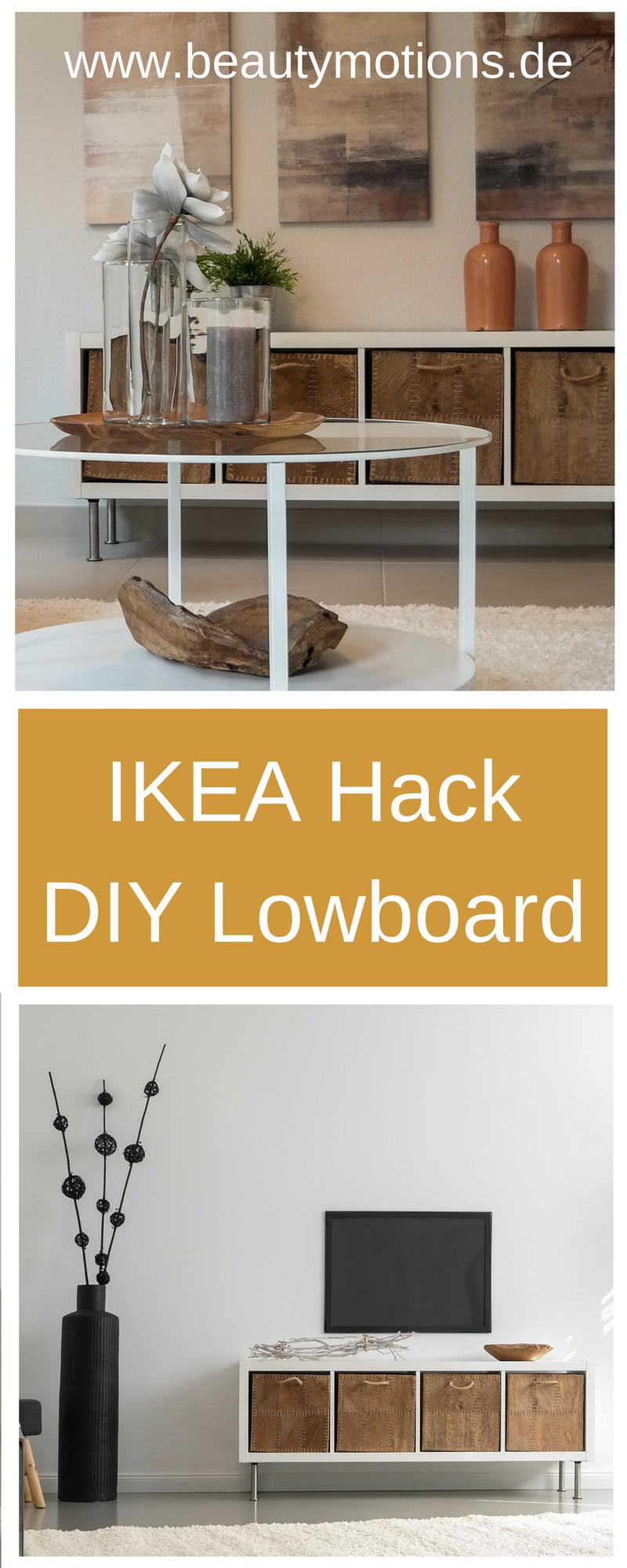 DIY Lowboard Selber Machen U2013 Ikea Hacks   Individuell, Einfach Und  Preiswert // Low