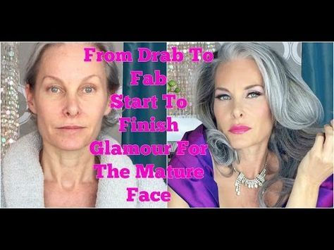 Makeup application for women over 50