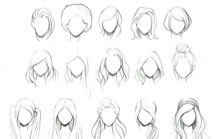Pin On Art Photography Art Bun Hairstyles Drawing 30 Updo Hairstyles Drawings Art B Anime Animebun How To Draw Hair Easy Hair Drawings Hair Sketch