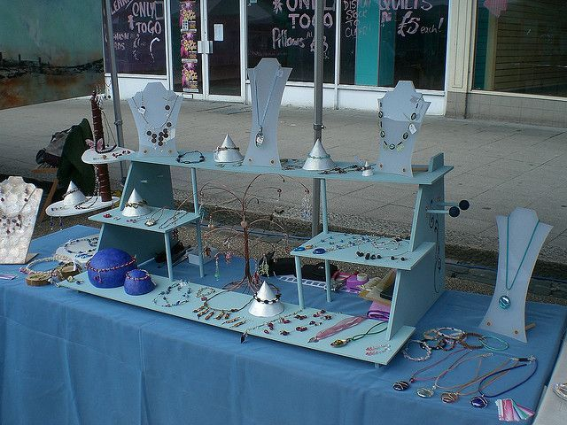 Designs On Jewellery Display Craft Show Displays Craft Show Table Diy Display
