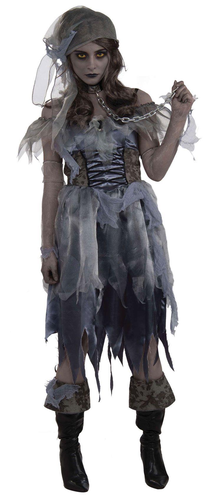 Lady Pirate Zombie Costume | Costumes & Make up | Pinterest ...