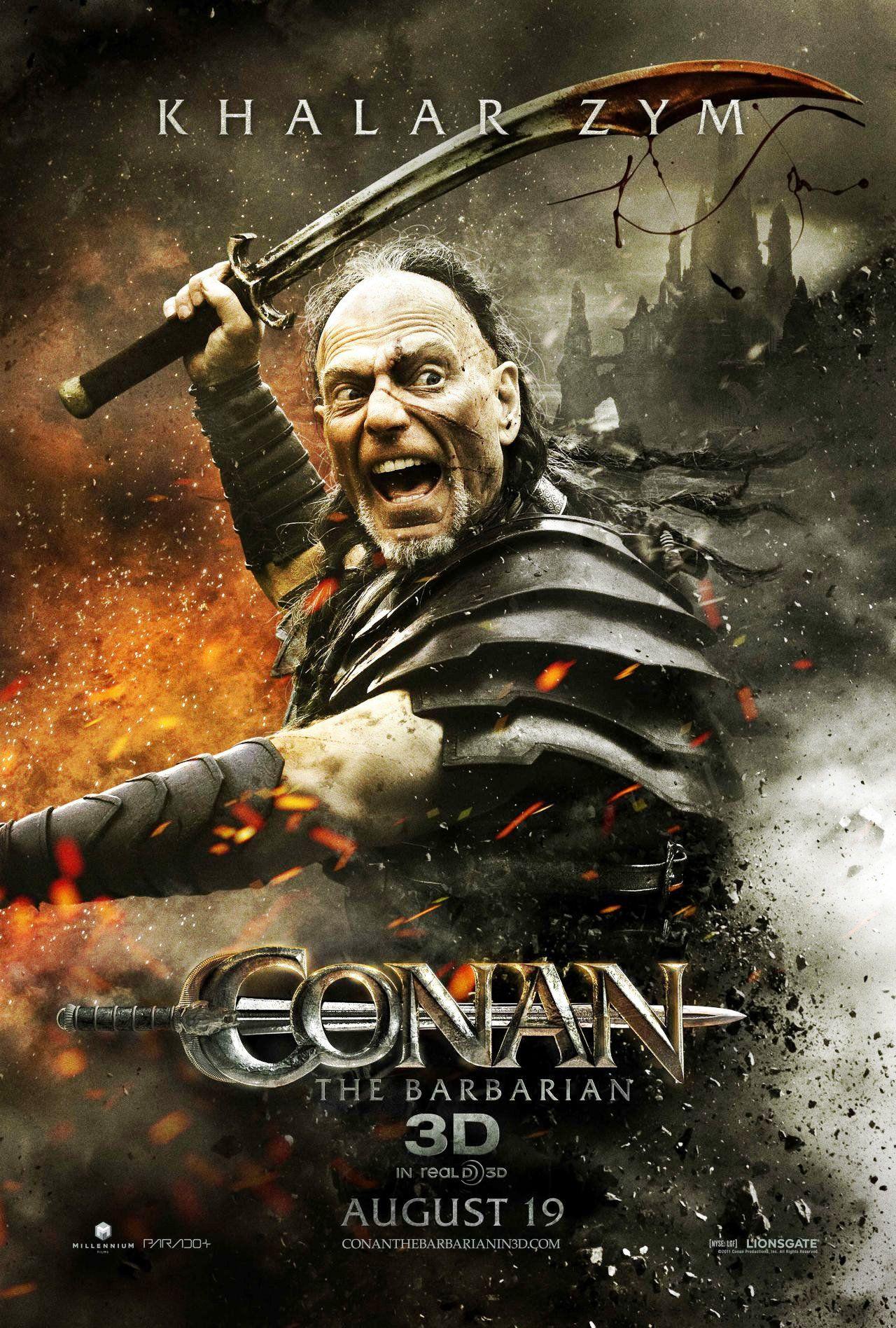 Conan 2011 Minimalist kalar zym (stephen lang) - conan the barbarian (2011)   legendary