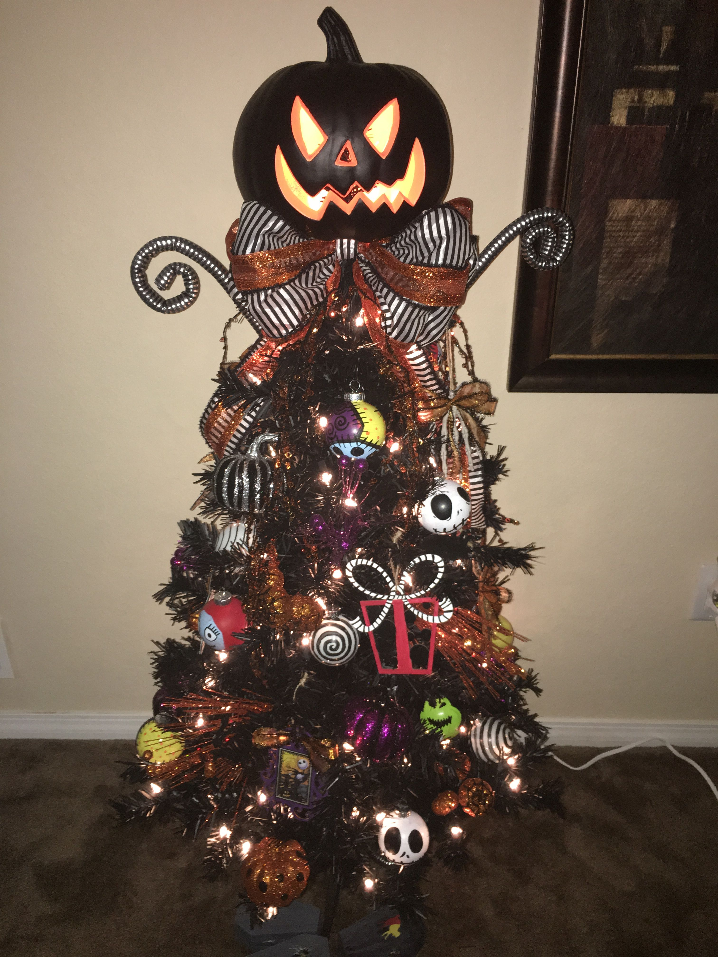 Nightmare Before Christmas Tree Halloween Christmas Tree Nightmare Before Christmas Tree Halloween Tree Decorations