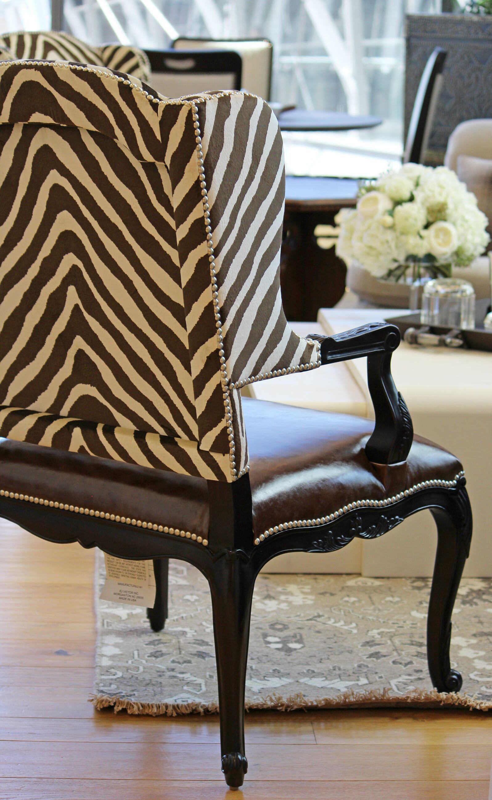 Custom Fabric Accent Chairs.Ralph Lauren Chair With Custom Fabric At Henredon Schoener