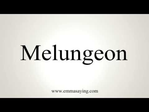 How to Pronounce Melungeon How to pronounce, Family