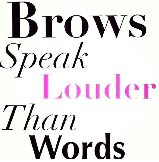 What are your brows saying about you?