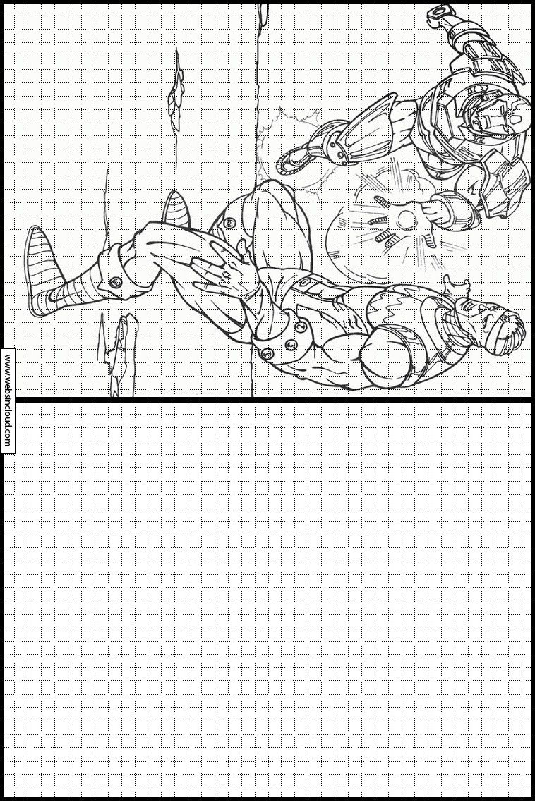 Learn To Draw Printable Activities For Kids Iron Man 11 Graph Paper Art Learn To Draw Printable Activities For Kids