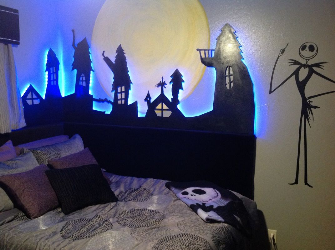 Special Spaces - Nightmare Before Christmas Bedroom Makeover - Alina ...