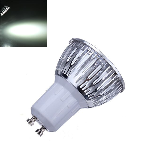 Dimmable GU10 9W 600LM Pure White Light LED Spot Bulb 220V
