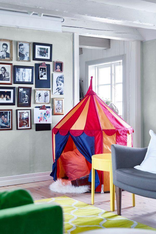 info for 91340 93428 Children's tent CIRKUSTÄLT | Nurseries & Kids' Rooms in 2019 ...