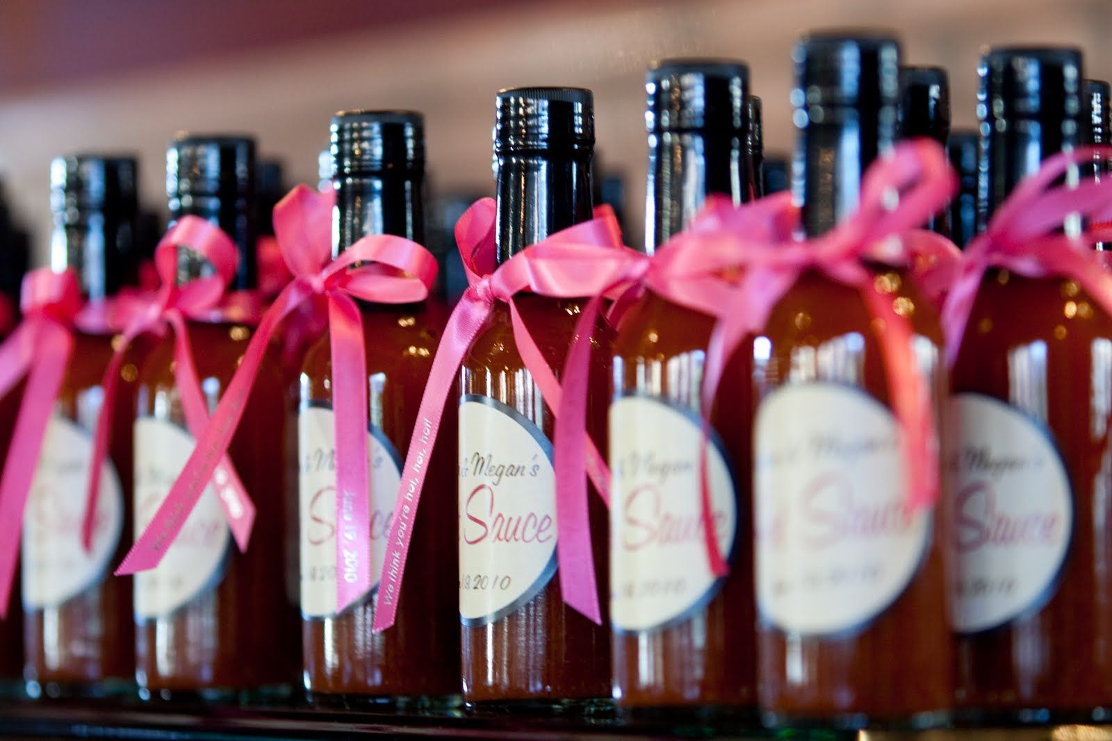 Hot Sauce favors and some other fun ideas