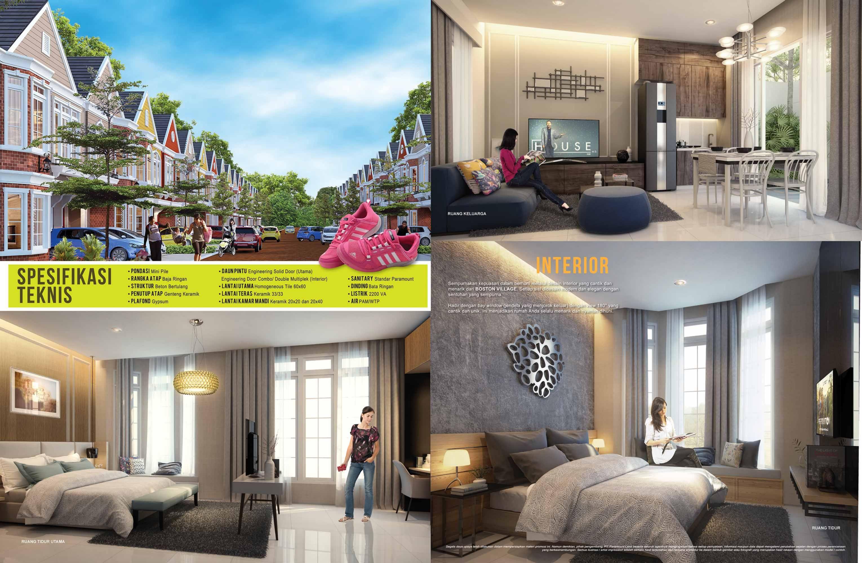 Design Interior rumah Boston Village Gading Serpong Tangerang ...