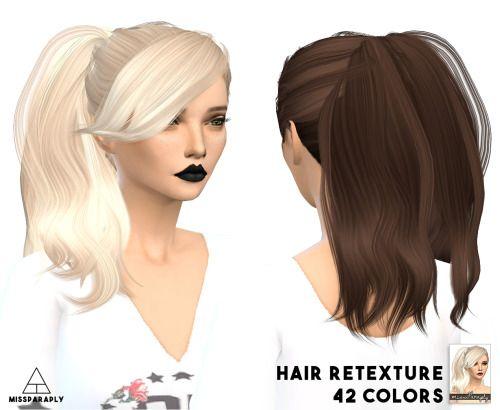 Missparaply Stealthic Retextures Hair Dump Part 1 Sims 4 Updates
