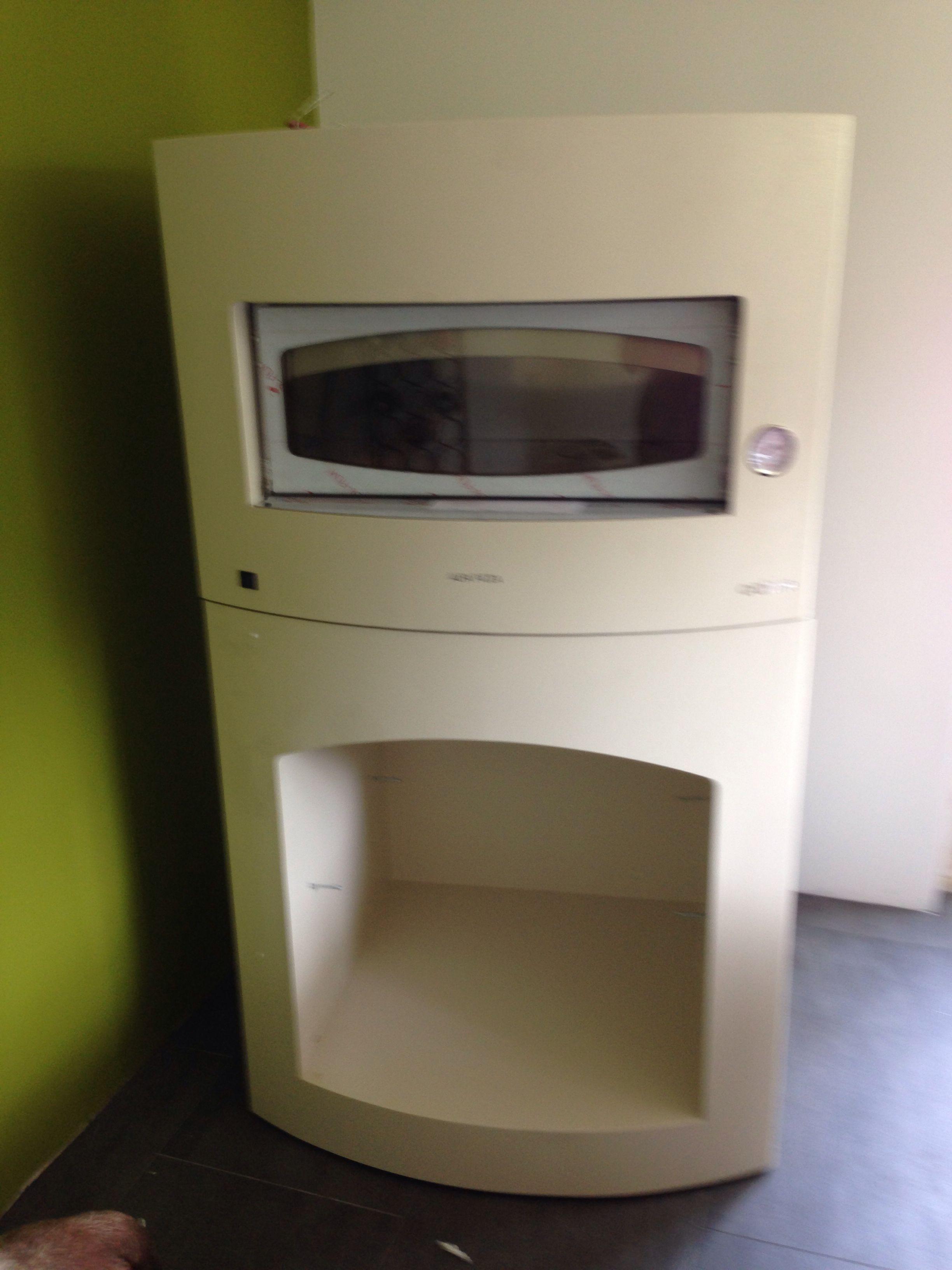 Onze nieuwe alfa pizza oven.