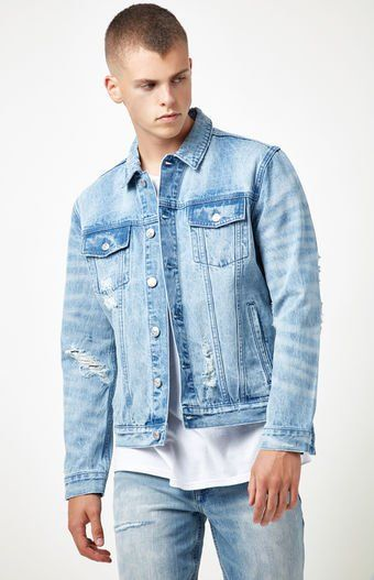 Slip on a cool, street-style-approved jean jacket over your next ...